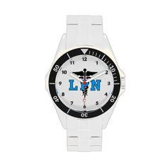 Nurses LPN Medical Symbol Wrist Watches