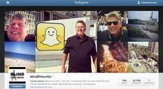 Instagram: aveugle, Tommy Edison voit le monde à travers le partage de ses photos sur le réseau social