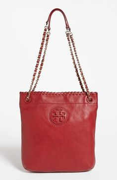 Tory Burch 'Marion - Book Bag' Leather Tote | Nordstrom i need this bag. it is the coolest bag ever. either double straps as pictured or can be worn as one long strap. obssssssessssssed.