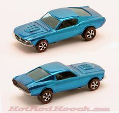 Vintage '68 Mustang Hot Wheels Redline