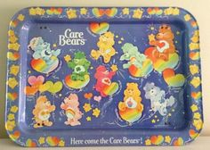 Care bears Tv tray(the metal ones that had folding legs)
