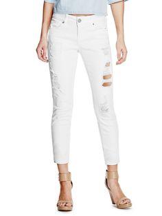 Giovanna Destroyed Skinny Jeans