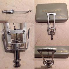 Tonometro de Schiötz de George P. Pilling.  Raymond O. Gulden cede a George P. Pilling & Son Company Filadelfia.  Comprado en Cedar Rapids, Iowa, United States, con registro de patente pendiente, Nº 62378. #tonometro #antiguo #vintage #coleccion #oftalmologia #tonometer #ophthalmology #glaucoma #Schiötz #schiøtz #schiotz #pilling #Tonometria #Cornea #Diagnostico #Oftalmologia #Oftalmologo #Ojo #Tonometry #Diagnosis #Screening #Medicine #Ophthalmologist #Eye #Old #Antique #Collection