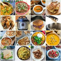 Need more healthy recipes for your Instant Pot? Here are almost 100 healthy Instant Pot recipes! Soup, dinner, side dishes, breakfast, and snack recipes!