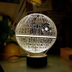 Santa Claus knows me #starwars #deathstar #lamplanet