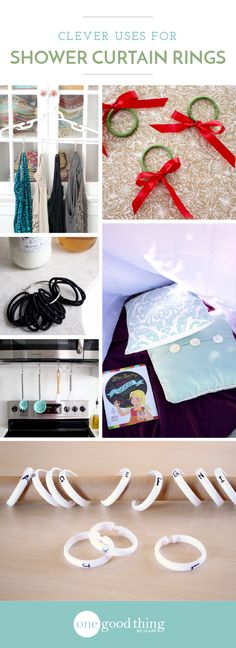 10 Unexpected and Creative Ways to Use Shower Rings