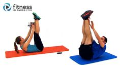 Tabata Kettlebell Workout + Abs and Obliques Workout - 45 Minute Kettlebell Training