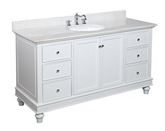 Website With Photo Gallery Bella inch Single Sink Bathroom Vanity White White Includes White