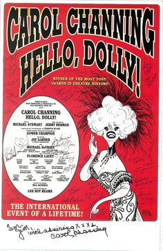 Al Hirschfeld - Hello Dolly