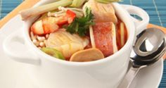 Seafood Soup Sweet and Sour | Del Monte Philippines http://www.delmonte.ph/kitchenomics/recipe/seafood-soup-sweet-and-sour