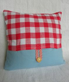 #solid #gingham #button
