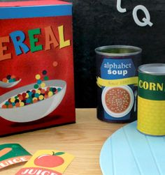 Pretend food seems to cost more than real food these days! Our play food labels are a quick, easy and inexpensive craft that the kids will love! - Everyday Dishes & DIY