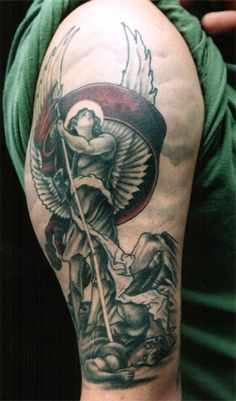 angel tattoos   Looking for unique Religious Angel tattoos Tattoos? Angel with banner