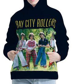 Bay City Rollers Womens Hoodie Hooded Pullover Sweatshirt Wb114 Aco20025