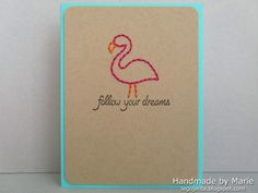 A card and video tutorial I made for the Lawn Fawn blog =) Another pinner said: the Lawn Fawn blog: Lawn Clippings Video {4.3.13} stitching on cards