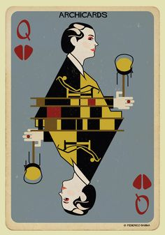 Federico Babina's ARCHICARDS Reimagines Architecture's Famous Faces as Playing Cards,© Federico Babina