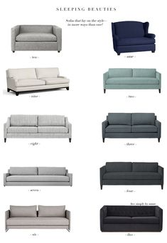 The Most Stylish Sleeper Sofas Guests and limited space co-exist!Guests and limited space co-exist! Sofa Bed Living Room, Living Room Decor, Home Staging, Sofa Bar, Leather Sectional Sofas, Couches, Diy Sofa, Ikea Sofa Bed, Futon Sofa