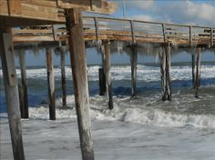 Nags Head pier, frozen | OBX Connection Message Board