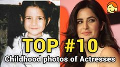 Top 10 Childhood Photos of Female Bollywood Actresses #1