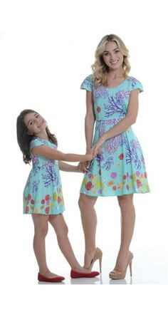 Vestido Algas Claro Infantil