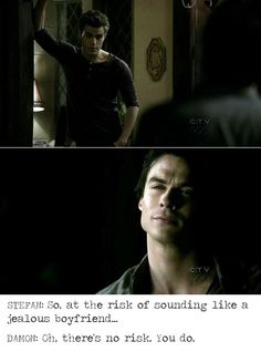 Stefan & Damon - The Vampire Diaries