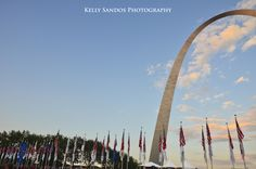 """Celebration"" - Kelly Sandos Photography. 4th of July, 2011, Gateway Arch, St. Louis, Missouri"