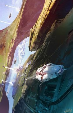 The Consuming Fire - John Scalzi - Book Cover — Art by Sparth . On ArtStation.