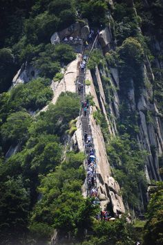 Mount Hua, Shaanxi Province, China