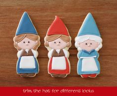 Handmade Girl Gnome Cookie Cutter by KlickitatStreet on Etsy