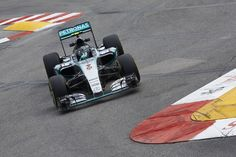 """""""Lewis claims first ever pole position in Monaco, Nico gets claiming his fourth consecutive front row grid slot"""" - Mercedes-Benz Social Publish Amg Petronas, Nico Rosberg, Monaco Grand Prix, Mercedes Amg, Front Row, Racing, High Level, Formula 1, F1"""