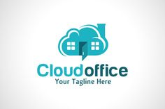 Cloud Office Logo by gunaonedesign on Creative Market