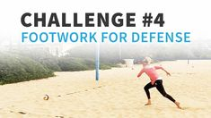 """Have you been watching April Ross making impossible-looking digs on the beach in Tokyo? Try this defense footwork challenge from April to help improve your footwork and quickness for covering line and cut shots, just like """"The Boss"""" herself!"""
