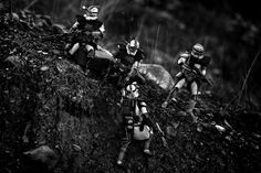 United States Marine Matthew Callahanuses his experience as a soldier to inform his stunning images of Star Wars clone…