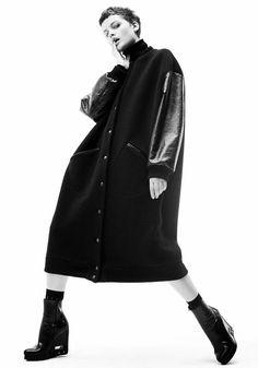 пальто-бомбер