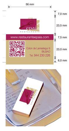 """Propuesta diseño cajas de cerillas modelo """"Hotel"""" para el restaurante Epaia en Bilbao. Bilbao, Container, Food, Model, Match Boxes, Wine Goblets, Proposals, Restaurants, Essen"""