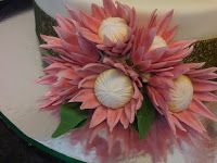 Welcome to Just Iced: Protea wedding cake!