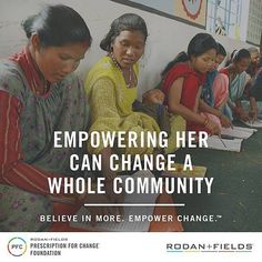 One of the things I love about RodanFields is how the company gives back to the community and how individual consultants get involved to help others in need.  In observance of International Women's Day (IWD) on March 8 2016 the Rodan  Fields Prescription for Change (PFC) Foundation and its nonprofit partner buildOn commemorated the remarkable achievements of women across the globe.  In their support of buildOn's mission of empowerment through education equality RF Consultants organized their…