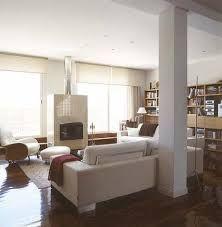 Dise o de interiores arquitectura casa decorada con for Decorar columnas interiores