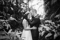 Phipps Conservatory Wedding: Secret Garden Inspired