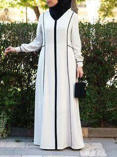 Abaya Fashion, Modest Fashion, Fashion Outfits, Iranian Women Fashion, Islamic Fashion, Muslim Long Dress, Moslem Fashion, Hijab Style Dress, Mode Abaya