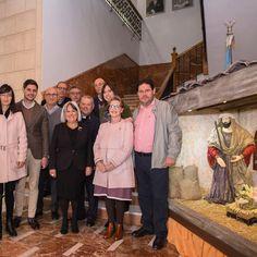 Inaugurant el Betlem municipal.  https://josemanuelprieto.es
