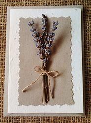 Lavender - Plantable Greeting Card