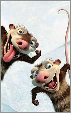 Wallpaper Iphone Disney, Cartoon Wallpaper, Cartoon Pics, Cute Cartoon, Ice Age Birthday Party, Ice Age Movies, Regard Animal, Movie Night For Kids, Cartoon Caracters