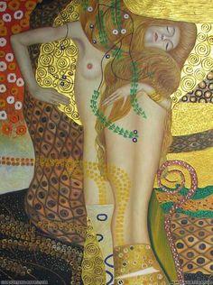 Klimt -Water Serpents