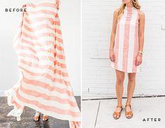Från bordsduk till klänning Sommaren är på väg och vad passar då inte bättre än att sy om din gamla bordsduk till en supertrendig klänning som du kan bära under sommaren. Välj en klänning hemifrån som du gillar, använd dig av den för att återskapa mönstret och sedan är det bara att köra. Klicka in …