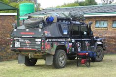 Great expedition kit on this Defender 130