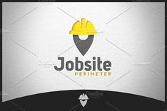 Jobsite Logo by Scredeck on @creativemarket