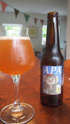 IPA from Icelandic micro brewery