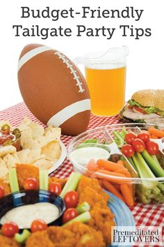 Hosting your own game-day gathering doesn't have to break the bank. With these Budget-Friendly Tailgate Party Tips, you'll be enjoying wonderful conversations with friends over delicious appetizers in no time!