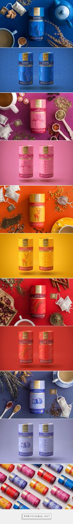 SARISTI The Botany of Harmony, tea packaging by Antonia Skaraki. Source: Daily Package Design Inspiration. Pin curated by SFields99 #sfields99 #packaging #design #inspiration #ideas #range #color #typography #illustration #concept #product #tea #beverages #drinks